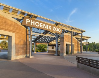 Entry Oasis <br/> Phoenix Zoo