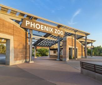 Entry Oasis <br/> Phoenix Zoo