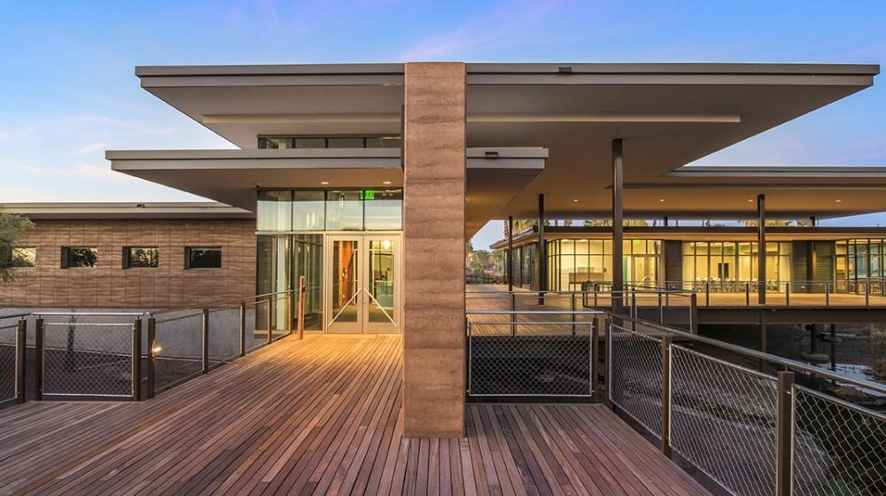 Administration Building Phoenix Zoo Architecture