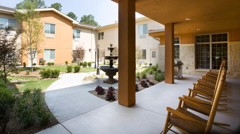 The Legend At Tulsa Hills Senior Living Architecture Design