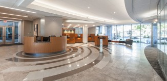 Fidelity Bank Headquarters </br> Lobby Remodel