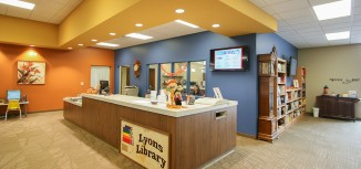 Lyons City Hall and Library