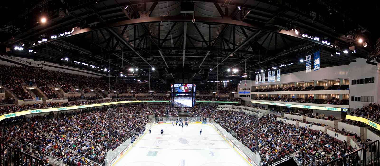 WDM Architects Intrust Bank Arena - Intrust arena seating