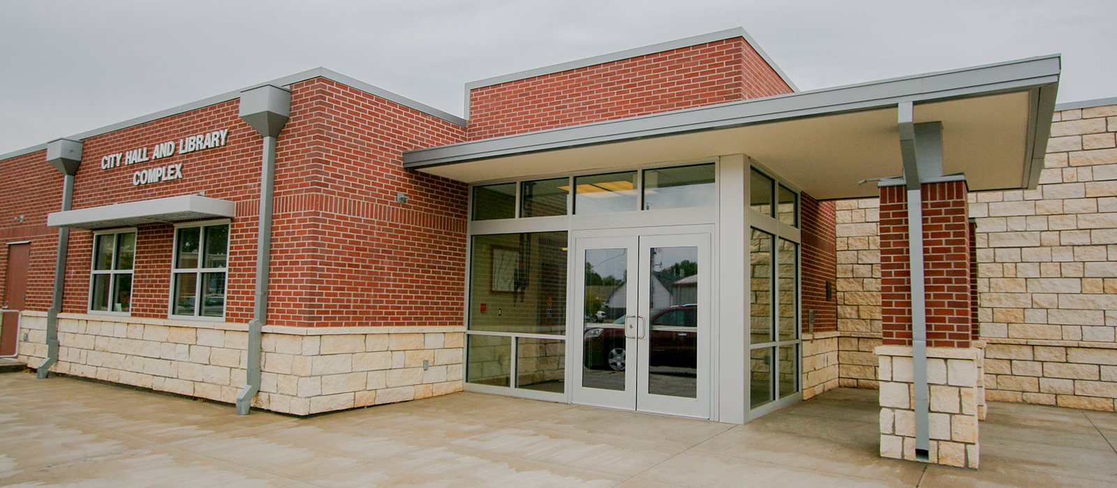 Lyons City Hall and Library | WDM Community Architecture