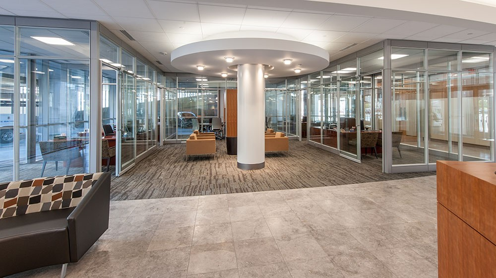 Fidelity Bank Headquarters | Lobby Remodel | Wichita KS